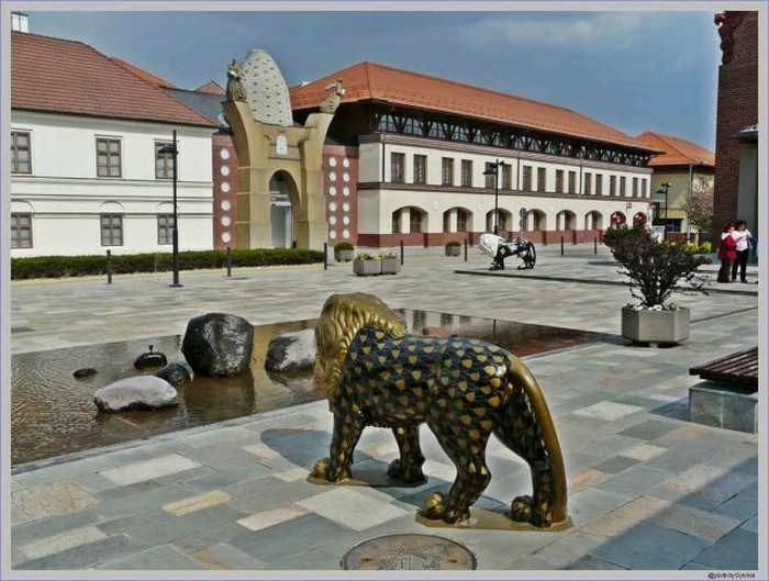 Венгрия. Херенд - фарфоровая мануфактура
