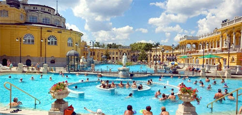 Термальный лечебно-оздоровительный купальный комплекс Сечени (Szechenyi Bath) Будапешт