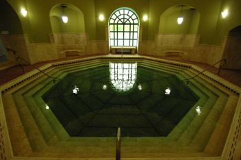 Термальный курорт Эгер. Турецкая баня