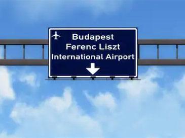 Трансферы в аэропорт Будапешт. Встреча в аэропорту. Быстрая доставка пассажиров из аэропорта в Хевиз