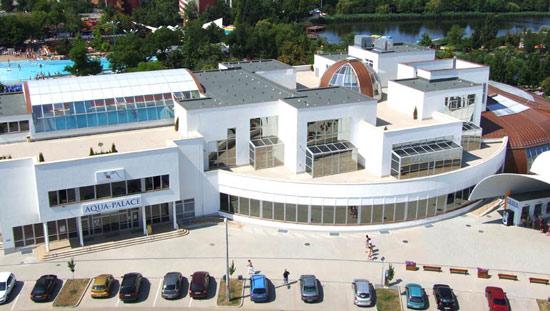Лечебно - оздоровительный термальный комплекс Хайдусобосло. Аква-дворец. Aqua Palace