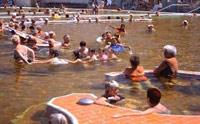 Лечебно-оздоровительный термальный курорт Хайдусобосло (Hajduszoboszlo). Лечебная купальня, развлекательные бассейны, аквапарк.