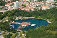 Венгрия. Термальное озеро Хевиз. Лечение минеральными водами.