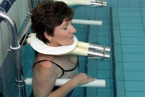 Венгрия. Лечение опорно-двигательного аппарата на термальном озере Хевиз. Процедура вытяжения позвоночника