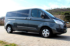 Ford Tourneo Custom. Budapest Airport Transfer. Private transfer from Budapest Liszt Ferenc Airport to more than 50 destinations, with the lowest price guaranteed