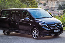Mercedes Benz V class. Budapest Airport Transfer. Limousine transfers service. Luxury class transfer. VIP transfer. Private transfer from Budapest Liszt Ferenc Airport to more than 50 destinations, with the lowest price guaranteed